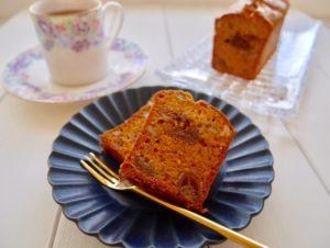 キャラメルのパウンドケーキ